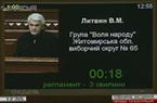 Виступ на пленарному засіданні Верховної Ради